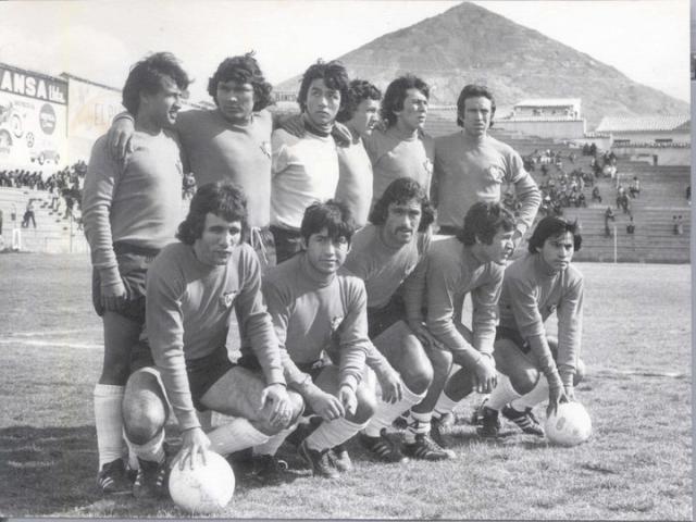 Wilstermann 1977 Foto cortesia Diego Piérola Lara
