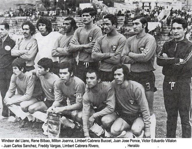 Jorge Wilstermann 1975 Cortesia Andyy War