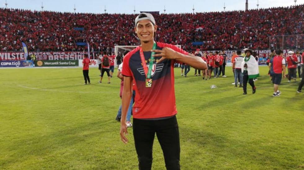 """Sebastián Reyes: """"Quiero convertirme en un referente de Wilstermann"""""""