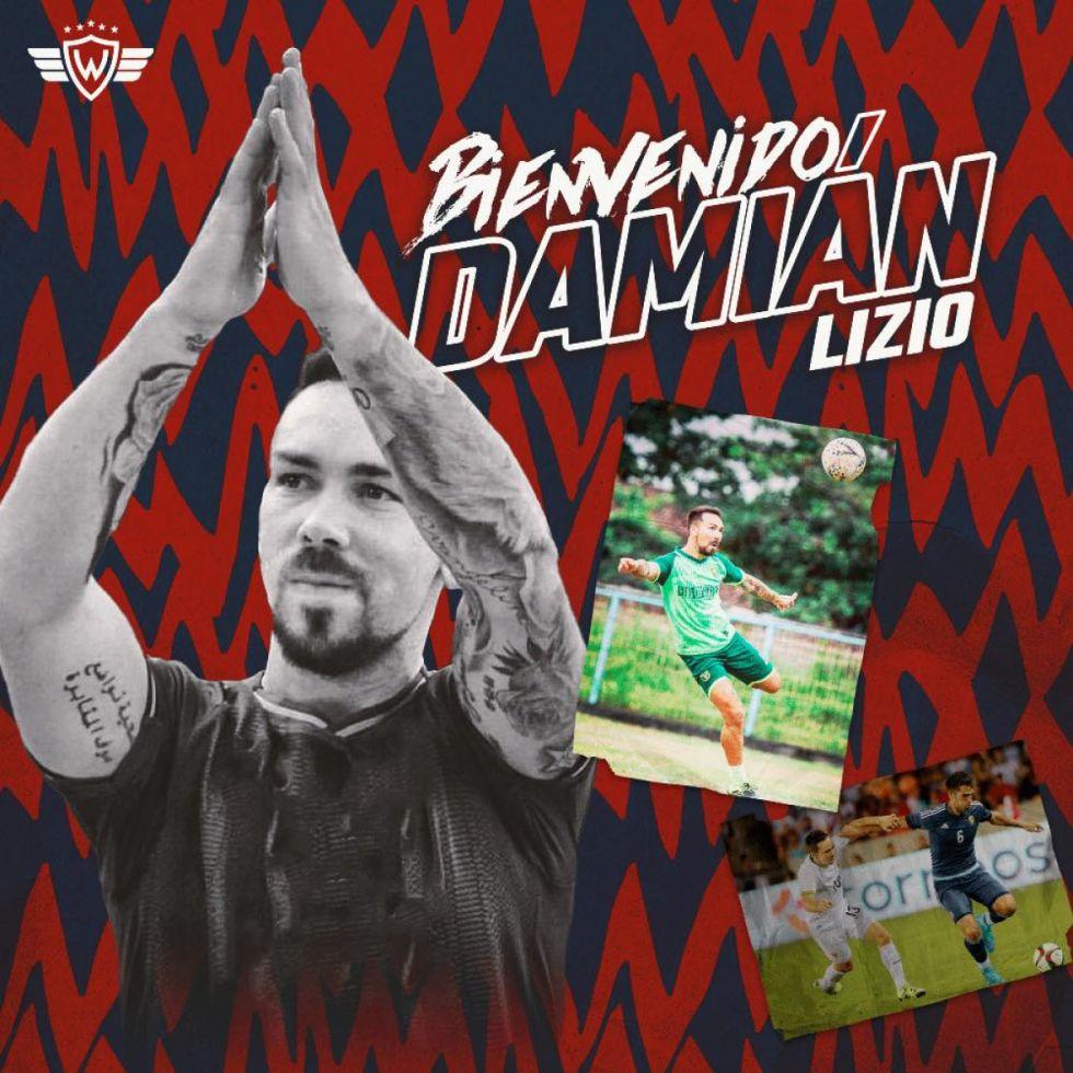 Damián Lizio se suma al trabajo de Wilstermann