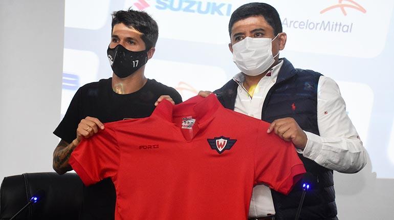 Contrato hasta 2024: Wilstermann y Pato firman cláusula de fidelidad en Bolivia