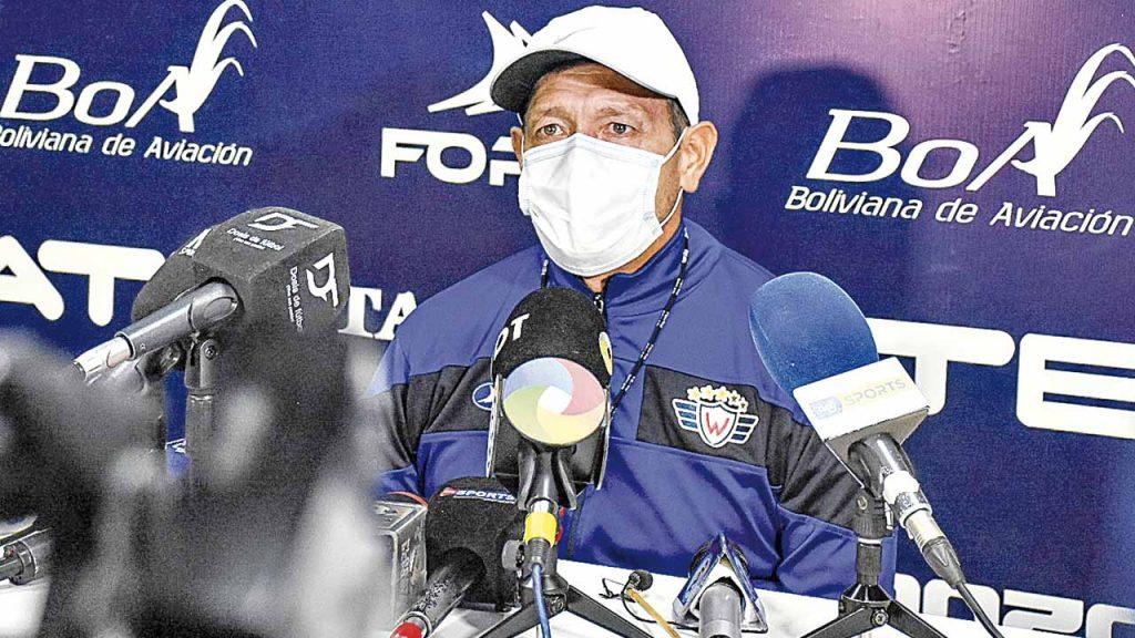 Soria no va más en Wilstermann por malos resultados