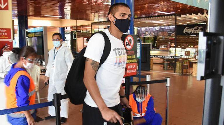 Paredes viaja a Fortaleza con la delegación de Wilstermann