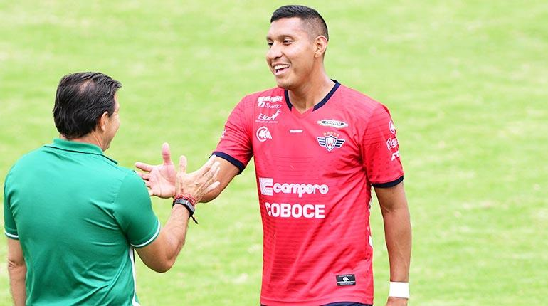 Esperan recuperar a Ronny Montero para la Copa América