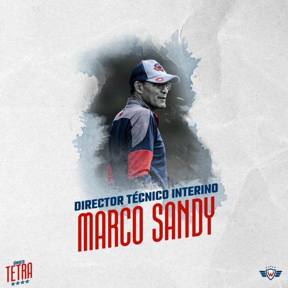 Marco Antonio Sandy inicia su ciclo con Wilstermann