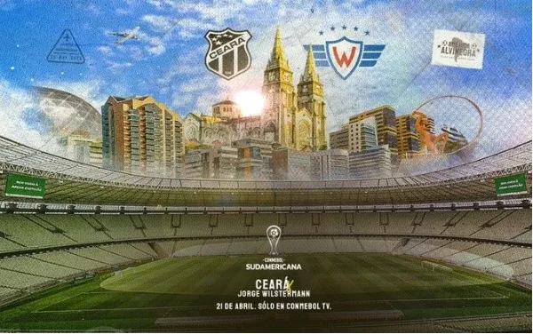 Qué canal transmite Ceará vs. Jorge Wilstermann por la Copa Sudamericana