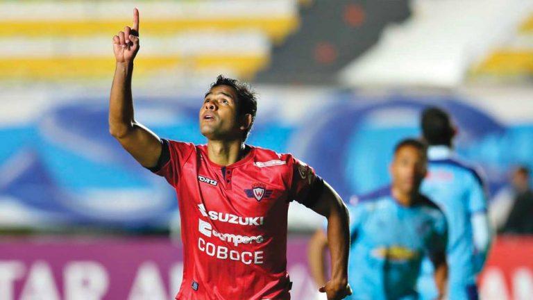 Osorio, la carta de gol de Wilster ante The Strongest