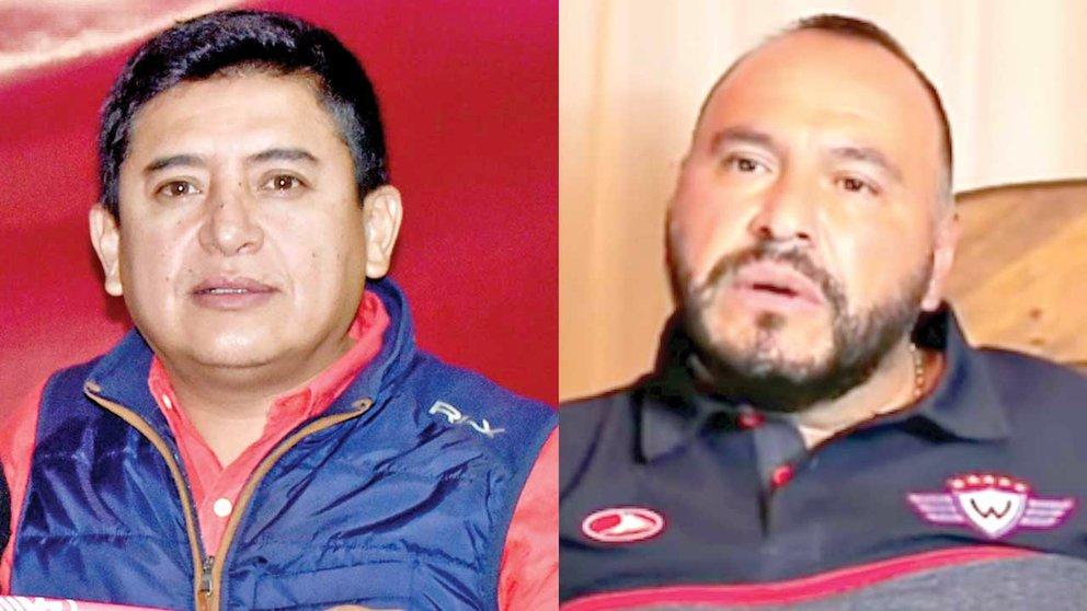 Vargas y Antezana, los candidatos a presidente en Wilster