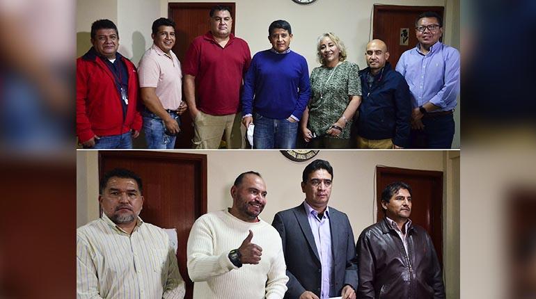 Gróver Vargas vs. Herald Antezana, por la presidencia